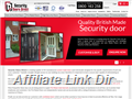 Website preview thumbnail for : Security Doors Direct