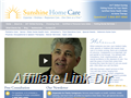 Website preview thumbnail for : Sunshine Home Care