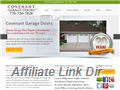 Website preview thumbnail for : Covenant Garage Doors