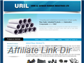 Website preview thumbnail for : URIL Industrial Custom Molded Products