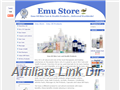 Website preview thumbnail for : Emu Store - emu Oil Products