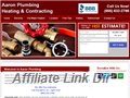 Website preview thumbnail for : Aaron Plumbing Heating & Contracting