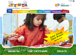 Website preview thumbnail for : Toddlers International Nursery