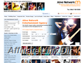 Website preview thumbnail for : Alive Network & Entertainment Agency