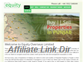 Website preview thumbnail for : Equity Overseas Property