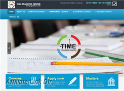 Website preview thumbnail for : Time Training Center (TTC)
