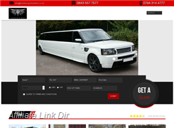 Website preview thumbnail for : Exclusive Hire in london