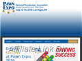 Website preview thumbnail for : Pawn Expo trade show
