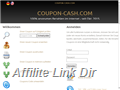 Website preview thumbnail for : Coupon Cash