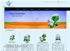 Website preview thumbnail for : Swan Sorter Systems