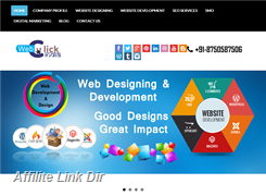 Website preview thumbnail for : Website Designing Company